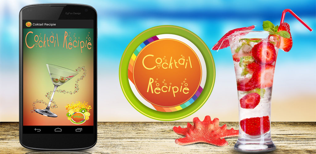 Application Cocktail recipes Android